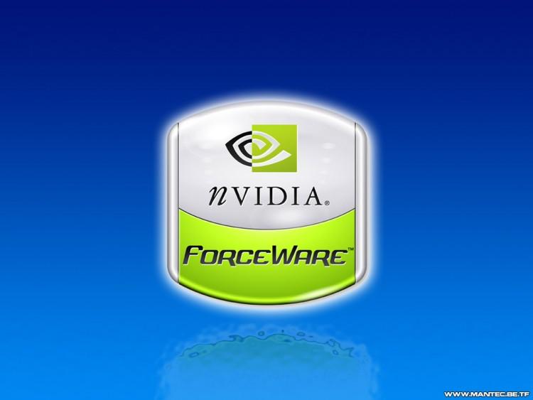 Fonds d'écran Informatique Nvidia Forceware Wallpaper Aqua