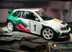 Wallpapers Cars Fabia WRC