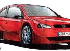 Fonds d'écran Art - Crayon Opel Astra Xtrem Concept