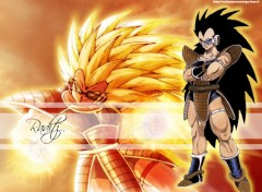 Wallpapers Manga raditz saiyans univers dbz