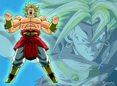 Wallpapers Manga broly saiyans univers dbz