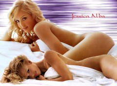 Fonds d'écran Célébrités Femme Jessica Alba