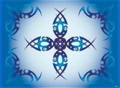 Wallpapers Digital Art Blue Tribal
