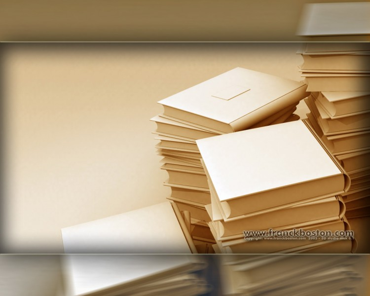 Fonds d'écran Art - Numérique 3D - Studio Max antika livre GD1280_1024