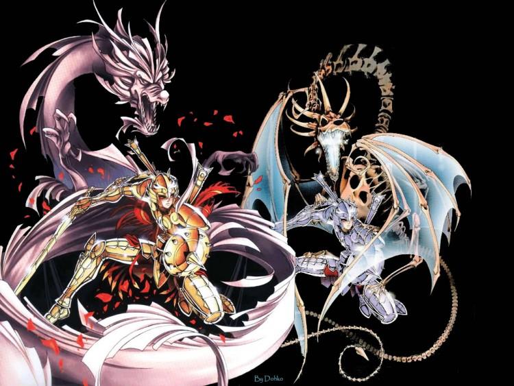 Fonds d'écran Manga Saint Seiya - Les Chevaliers du Zodiaque Dohko