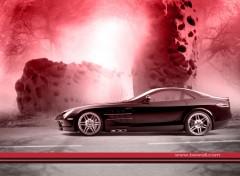 Fonds d'écran Voitures Mercedes-Benz Brabus SLR McLaren wallpaper