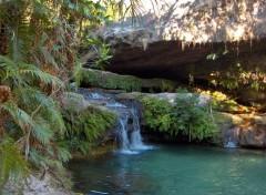 Fonds d'écran Nature Piscine naturelle dans le massif de l'Isalo