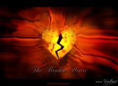 Fonds d'écran Art - Numérique Broken Heart