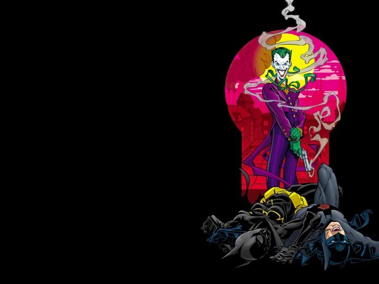 Wallpapers Comics > Wallpapers Batman joker win by K.O by lololetoulousain - Hebus.com