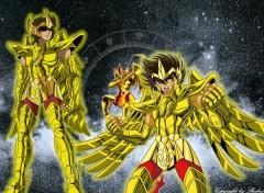 Fonds d'écran Manga Chevalier du Sagittaire