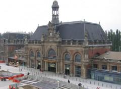 Fonds d'écran Voyages : Europe gare de valencienne