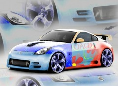 Wallpapers Cars 350z-oam-