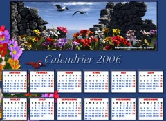 Wallpapers Digital Art Calendrier 2006