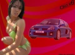 Fonds d'écran Voitures Clio v6
