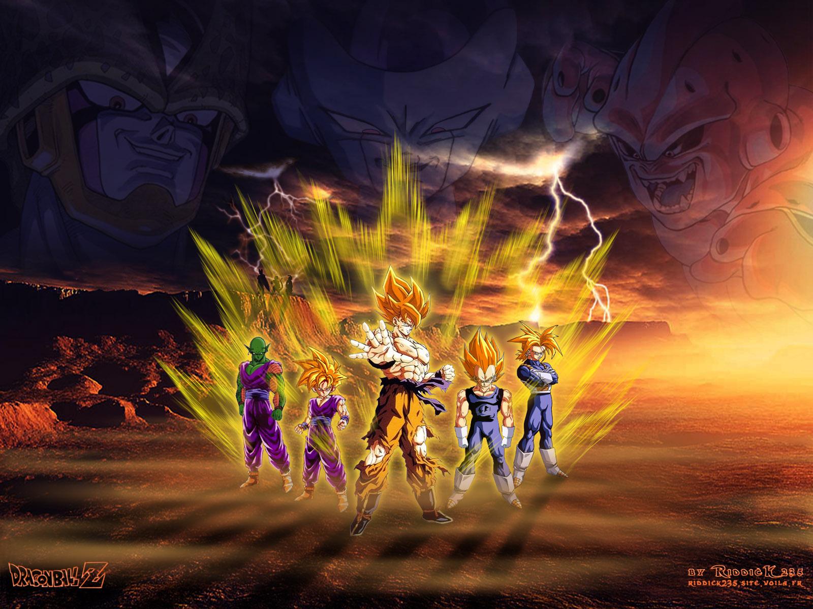 Wallpapers Manga Dragon Ball Z Heros'n'Monsters v2.0