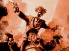 Fonds d'écran Comics et BDs Sam et Twitch