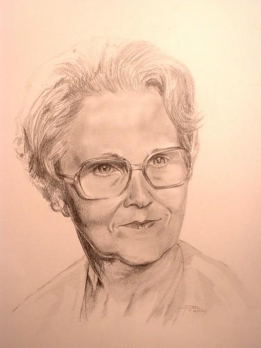 Fonds d'écran Art - Crayon Portraits inconnue