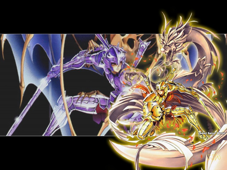 Wallpapers Manga Saint Seiya chevalier de la balance