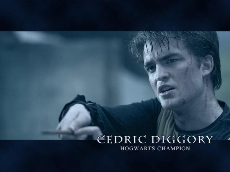 Fonds d'écran Cinéma Harry Potter et la Coupe de Feu (IV) Cedric Diggory - Robert Pattinson