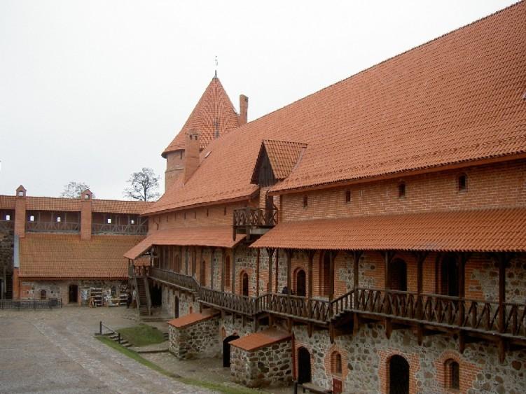 Fonds d'écran Voyages : Europe Lituanie Chateau de Trakai