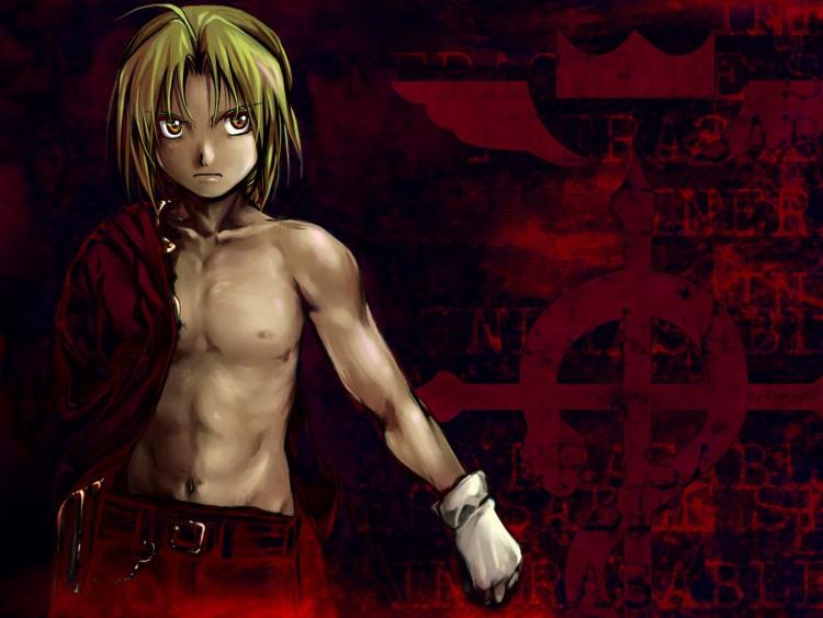 Fonds d'écran Manga Full Metal Alchemist Dark Edward