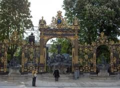 Fonds d'écran Voyages : Europe A Nancy, les grilles de la place Stanislas