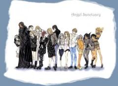 Fonds d'écran Manga tof de groupe