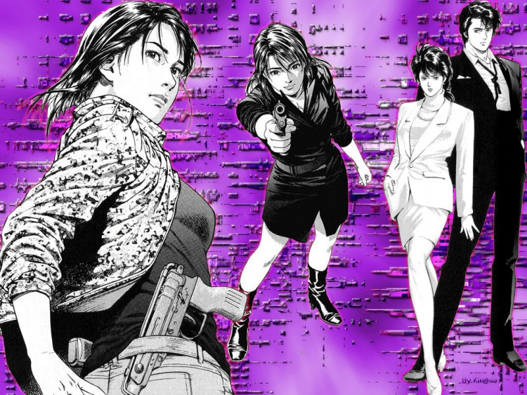 Wallpapers Manga Wallpapers City Hunter City Hunter Angel