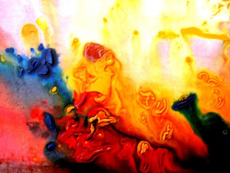 Fonds d'écran Art - Peinture Abstrait Sans titre.