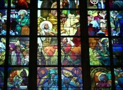 Wallpapers Trips : Europ détail vitrail