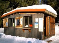 Fonds d'écran Constructions et architecture Cabane au Schnepfenried