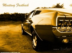 Wallpapers Cars Mustang Fastback