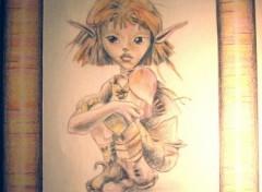 Fonds d'écran Art - Crayon Arthur terminé