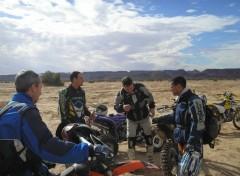 Wallpapers Motorbikes raid maroc 2006