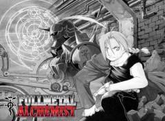 Fonds d'écran Manga Two Alchemist