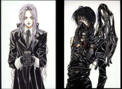 Fonds d'écran Manga ange & demon