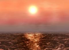 Wallpapers Digital Art Sunset