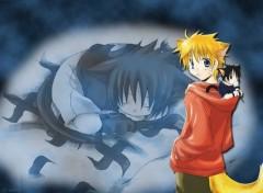 Fonds d'écran Manga rêve miaou