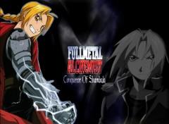 Fonds d'écran Manga Le full metal alchimist Edward Elric