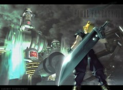 Wallpapers Video Games Cloud / Batiment Shinra