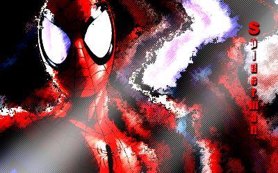 Fonds d'écran Art - Numérique Science-Fiction - Robots spiderman