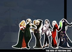 Wallpapers Video Games Groupe KOF 2003