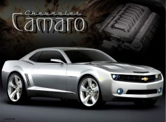 Wallpapers Cars Camaro Concept 2006