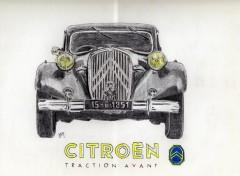 Fonds d'écran Art - Crayon Traction 51