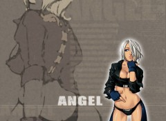 Wallpapers Video Games Angel, de King of Fighters