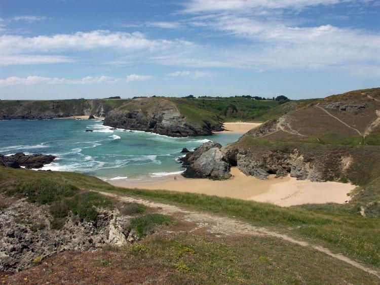 Fonds d'écran Voyages : Europe France > Bretagne Belle-Ile en mer, les plages.