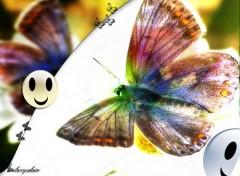 Wallpapers Digital Art Happy papillon