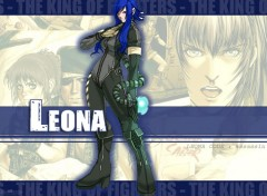 Wallpapers Video Games Leona de King of Fighters