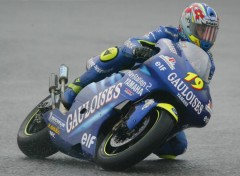 Fonds d'écran Motos Olivier Jacque - Yamaha YZR500