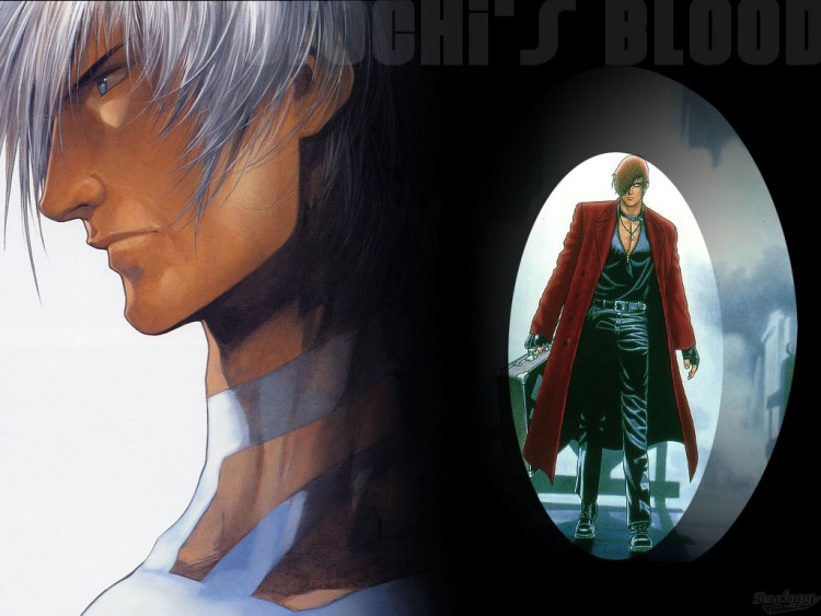 Wallpapers Video Games King of Fighters Orochi & Iori